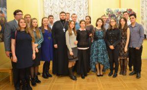 Воспитанники семинарии побывали на премьере в Ростовском-на-Дону Академическом Молодежном театре